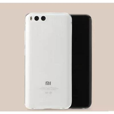 小米手机保护套 【支持礼品卡】小米6高透软胶保护套新款迷你超薄透明