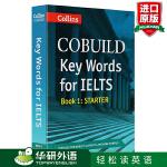 柯林斯雅思英语关键词汇1Key Words for IELTS 初级 英文原版 【包邮】华研原版