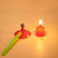 儿童礼品物理科学实验玩具 科普器材科技小制作DIY玩具 固体热胀冷缩(两包装)