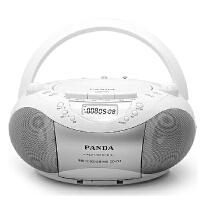 【当当自营】熊猫(PANDA) CD-208 CD复读机USB插卡手提音响便携式录音磁带收音机收录机MP3播放机播放器