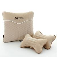 汽车腰靠车枕腰垫抱枕被头枕腰靠套装用品用靠垫背腰