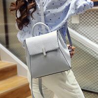 双肩包女韩版女士包包新款时尚百搭PU双肩背包女潮学院风书包