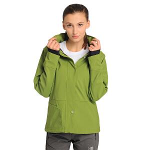 凯瑞摩karrimor秋冬装新款女士运动登山户外软壳衣外套