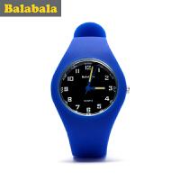 巴拉巴拉男童手表中童时尚手表2017夏季新款儿童学生手表休闲男