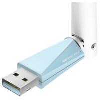 水星 MW150UH 免驱版 150M迷你USB无线网卡 随身wifi软AP家用穿墙台式机笔记本电脑无线信号发射器接收器加长天线