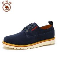 骆驼牌男鞋 新品系带工装鞋舒适日常休闲男士鞋子透气耐磨