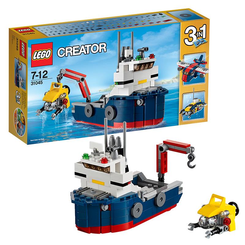 [当当自营]LEGO 乐高 Creator创意百变系列 深海探险交通组 积木拼插儿童益智玩具31045【当当自营】适合7-12岁,213pcs小颗粒积木