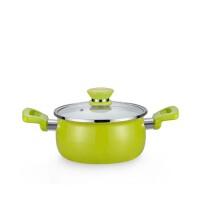 家用奶锅 搪瓷锅小汤锅 电磁炉通用