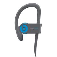 Beats Powerbeats 3 Wireless 无线蓝牙耳机 入耳式运动耳机 耳挂式跑步音乐耳机 (带麦) 超长待机 充电5分钟播放1小时 蓝色