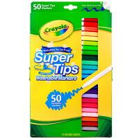 当当自营Crayola 绘儿乐 50色可水洗细杆水笔 58-5050