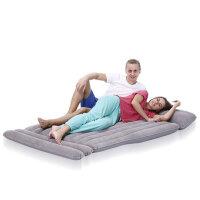 单双人气垫床SUV通用车载床植绒充气床车震床送泵充气床垫