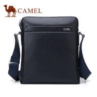 Camel骆驼男包2017新款男士 单肩包简约商务斜挎包男背包男版