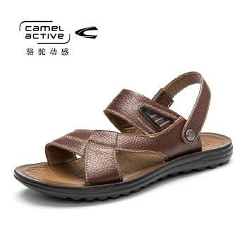 骆驼动感(camel active)夏季款休闲男士凉鞋