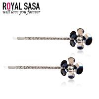 皇家莎莎Royalsasa甜美新款韩版边卡发饰头饰 小花朵一字夹对夹边夹刘海夹07SP231