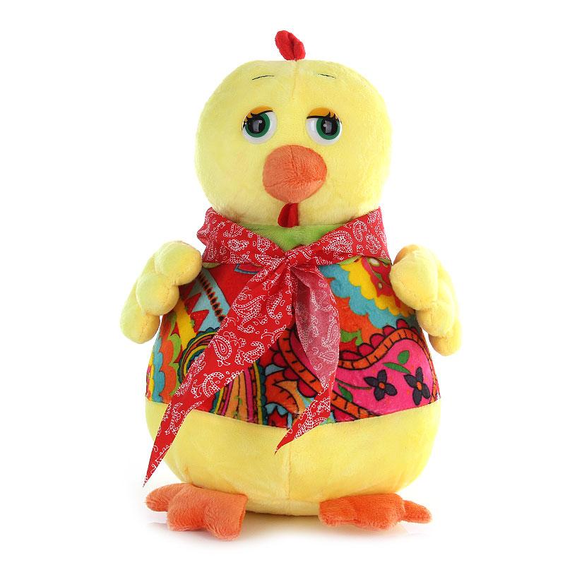 凯弘2017年鸡年吉祥物 小鸡毛绒公仔 新年礼物 年会礼品 生肖鸡玩偶