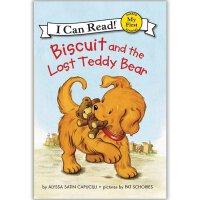 原版儿童英文绘本I Can Read My First Biscuit系列之Biscuit and the Lost Teddy Bear 小饼干和丢失的泰迪熊   送音频请联系客服