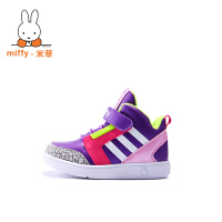 Miffy米菲加绒儿童运动鞋秋冬男童休闲鞋女童中邦二棉鞋板鞋AD011