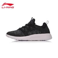 李宁休闲鞋男鞋新款运动生活系列轻便透气袜子鞋男士运动鞋GLKM055