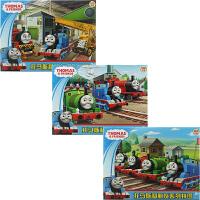 古部拼图 托马斯与朋友们三合一拼图益智玩具(100片2560+200片2561+300片2562)