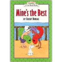 原版儿童英文绘本I Can Read 汪培�E阶段之Mine's the Best 我的是好的  5本包邮 赠送音频
