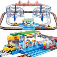 托马斯小火车套装电动轨道正版 高铁汽动赛车男孩子儿童玩具