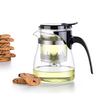 尚明飘逸杯茶道杯泡茶壶玻璃茶壶可拆洗过滤高硼硅茶具花茶泡茶器 A12