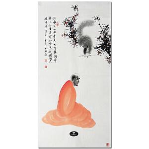 国家一级美术师、中国美协会员薛大庸《禅定图2》