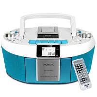 【当当自营】熊猫(PANDA) CD-820 数码DVD复读播放机CD胎教机磁带录音机收音收录机MP3播放器音响(蓝色)