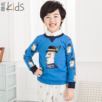 初语童装男童卫衣卡通休闲上衣冬装卫衣T5405210071