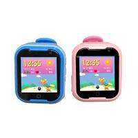 小天羊 M02 4G网络儿童电话手表 1.54英寸彩屏触摸屏 男女孩学生卫士智能电子手表gps定位防水手  运存512M 内存4G 移动联通手表卡 拍照手表手机