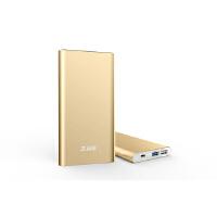 【当当自营】 台电T100M-G移动电源双USB2.1A输出10000毫安安全聚合物锂电芯高转化率充电宝  金色