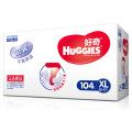 [当当自营]Huggies好奇 银装 干爽纸尿裤 尿不湿 箱装 加大号XL104片 (适合12-16公斤)(电商装)