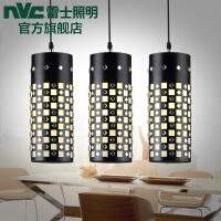 雷士照明 创意三头 现代简约客厅吊灯 餐厅灯