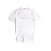 Calvin Klein/凯文克莱T恤衫夏季新款短袖T恤男式纯棉圆领印花短袖t恤401G223