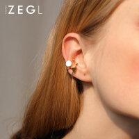 ZENGLIU韩国耳骨夹无耳洞女 气质长款耳坠简约个性耳饰品几何耳环