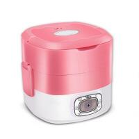 电热饭盒双层陶瓷迷你保温饭盒可插电加热饭盒热饭器蒸煮饭盒