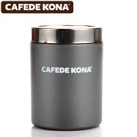 CAFEDE KONA撒粉器 不锈钢撒粉筒罐精细网纱式桶可可粉 咖啡粉具 浅灰色CK8997