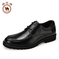 骆驼牌皮鞋男 男鞋商务休闲鞋男士英伦青年系带牛皮正装德比鞋