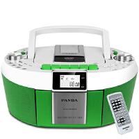 【当当自营】熊猫(PANDA) CD-820 数码DVD复读播放机CD胎教机磁带录音机收音收录机MP3播放器音响(绿色)