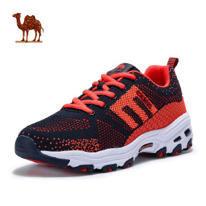 camel骆驼运动鞋 2017春季新品 情侣款增高跑鞋减震耐磨透气男女款熊猫鞋