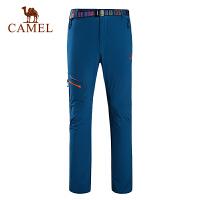 camel骆驼户外速干长裤 春夏男款快干耐磨透气时尚速干裤