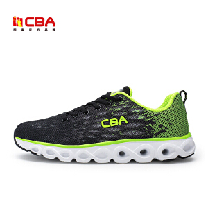 CBA男子跑步鞋 2017春季新款运动鞋轻便网面透气跑鞋旅游鞋