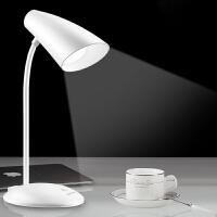 御目 台灯 LED充电小台灯护眼学习书桌USB大学生阅读卧室床头宿舍节能灯创意灯具