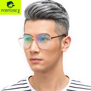 海豚新品潮流眼镜框女大框复古眼镜架平光镜可配近视防蓝光眼镜女