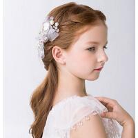 儿童时尚新娘蝴蝶发夹新品头饰 新年发饰套装婚纱礼服配饰品