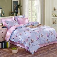 御目 三件套 夏季全棉水洗绗缝被床上用品床盖床单床裙枕套四季可用家居用品装饰品
