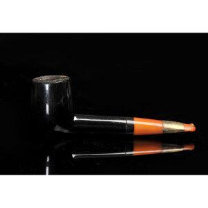20世纪 欧洲海泡石蜜蜡烟斗 长15cm