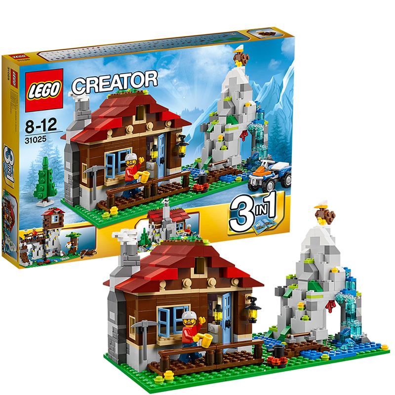 [当当自营]LEGO 乐高 CREATOR创意百变系列 山地小屋 积木拼插儿童益智玩具 31025【当当自营】适合8-12岁,550pcs 小颗粒积木