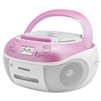 【当当自营】熊猫(PANDA) CD-860 手提式DVD播放机复读机CD机磁带U盘MP3录音机收录机 红色