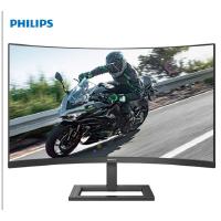 飞利浦显示器-飞利浦液晶显示器27寸279X6QJSW,MVA广视角全高清LED曲面显示器 爱眼不闪屏